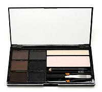 Косметический набор для бровей Cosmetics Brow Artistry Palette Malva (478-3) № 03