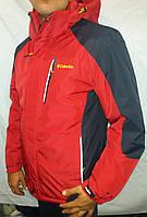 Мужская термокуртка COLUMBIA красная