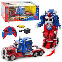 Радиоуправляемый Робот Трансформер 28128 Optimus Prime , Трансформер Оптимус Прайм 28128 с пультом