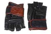 Перчатки для каратэ TM JAB кожаные