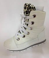 Ботинки на девочку зимние на шнуровке 33-38 Том.М