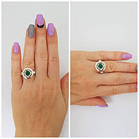 """Серебряное кольцо с альпинитом """"624"""""""