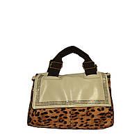 Женские сумки арт.3415 Леопардовый-бежевый