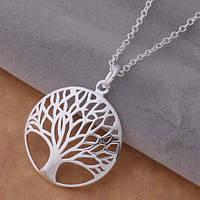 Кулон Дерево счастья стерлинговое серебро