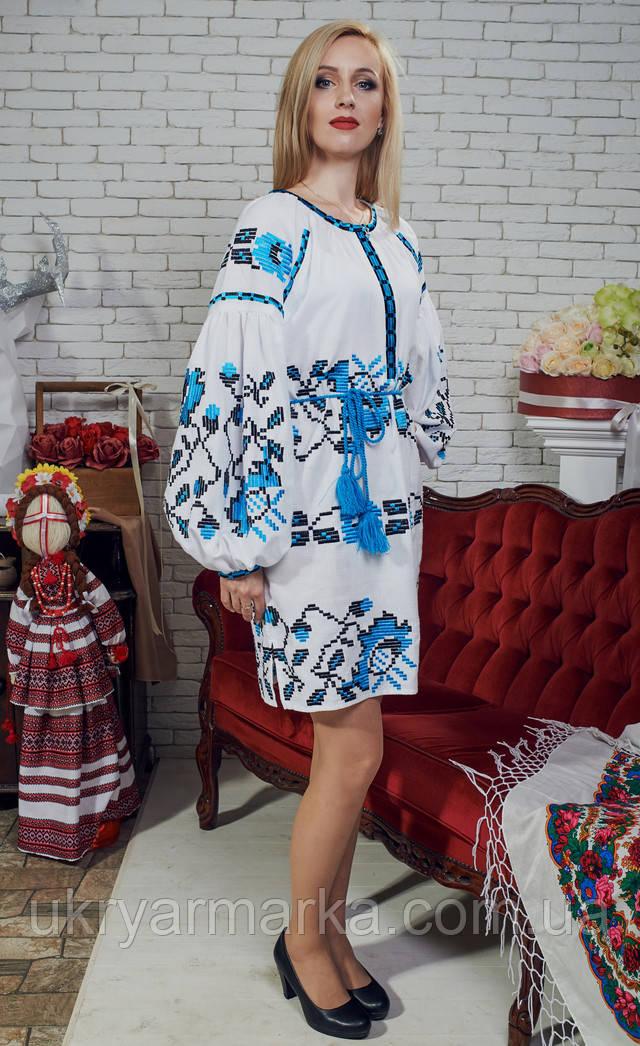 Стильні і такі привабливі вишиті сукні поєднують в собі оригінальні  квіткові орнаменти укупі з пастельними тонами. Орнаменти a8f63816eacd9
