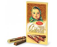Шоколад молочный Аленка с молочной начинкой Красный Октябрь 100 грамм