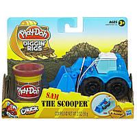 Игровой набор для лепки Hasbro Play-Doh Машинки для строительства дорог в ассорт (49492)