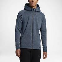 Кофта Nike Jordan Icon Fleece Hoodie 809470-454 размер S Серый