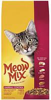 Корм для кошек для выведения шерсти Meow Mix Cat Hairball Control