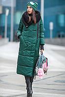 Пальто женское из плащевки зимнее Милан (3 цвета), зимнее женское пальто