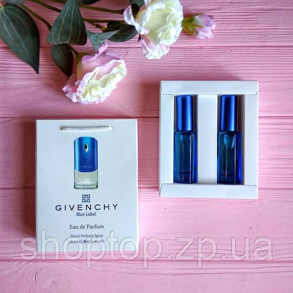 Подарочный набор парфюмерии  Givenchy Blue Label   [реплика]