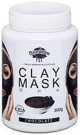 Глиняная маска Омолаживает, увлажняет и смягчает кожу, с шоколадом