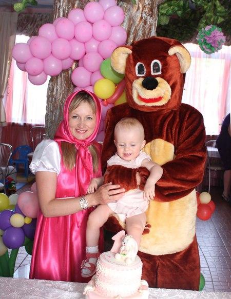 Маша и Медведь аниматоры Сумы