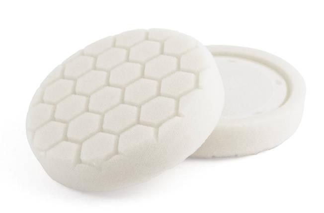 """Полировальный круг соты средней мягкости - Flexipads PRO-Detail 150 мм. (6,0"""") 30 мм. белый (HL650), фото 2"""