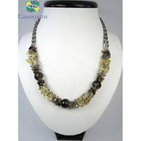 Эксклюзивное ожерелье из топаза