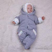 """Утепленный человечек для новорожденных """"Мася"""" 56 р."""