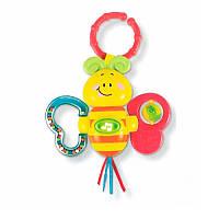 Музыкальная подвеска-погремушка на коляску «Бабочка» 0626-NL WinFun