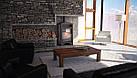 Отопительная печь-камин длительного горения AQUAFLAM VARIO BARMA (водяной контур, белый дуб), фото 6