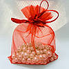 Подарочный мешочек красный 52896 размер 10х12 см