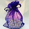 Подарочный мешочек фиолетовый 54601 размер 10*12 см