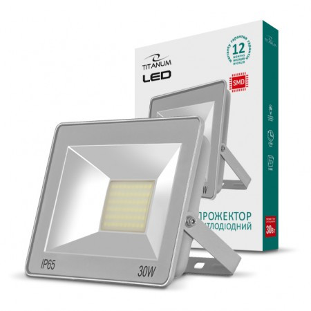 Led прожектор 30 Вт Titanum 6000K светодиодный
