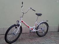 Складной велосипед Azimut 24*2409-1 с фарой