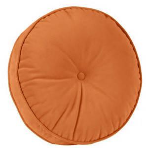Декоративная подушка, модель 1 круглая Медовая