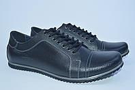 Кожаные мужские туфли, полу-спорт