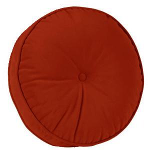 Декоративная подушка модель 1 круглая Винный