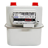 Бытовой счетчик газа Metrix G-1.6