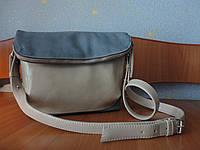 Женская кожаная сумка (ручной работы)