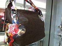 РАСПРОДАЖА Вместительная  Женская сумка с лазерным покрытием с цветами легкая