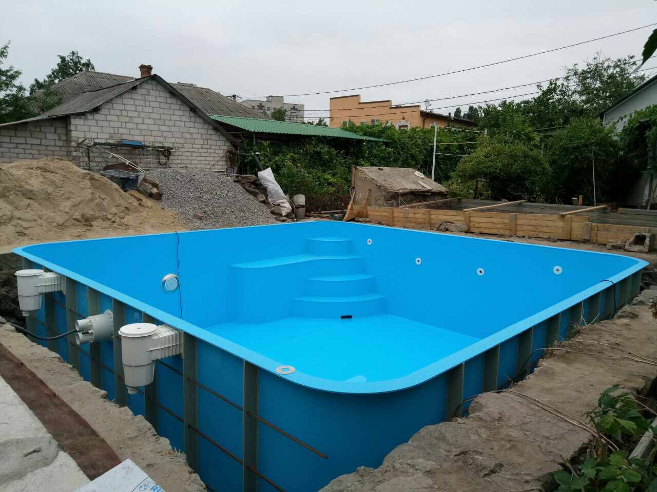 97347391e70d9 Бассейны полипропиленовые под заказ, цена 20 158 грн., купить в ...
