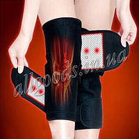 Турмалиновая повязка на колена. Наколенники с турмалином