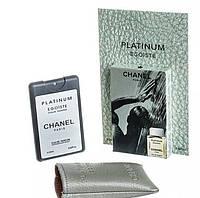 """Мини-парфюм в чехле """"CHANEL Platinum Egoiste"""""""
