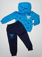 Теплый спортивный костюм Armani 1-4 года