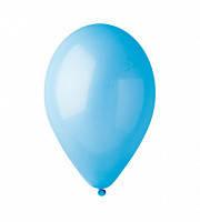 """Воздушный шар  пастель светло-голубой 12"""" (30 см)"""