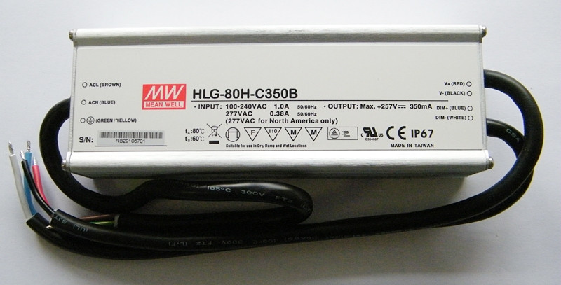 Блок питания HLG-80H-C350B MeanWell