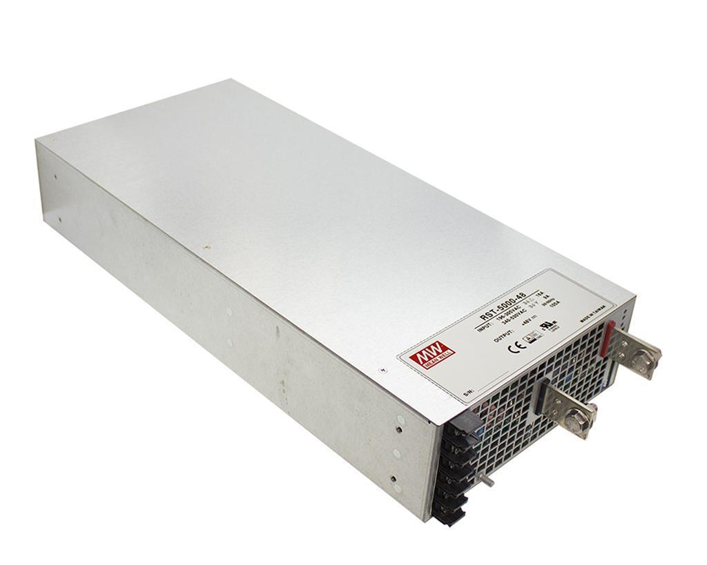 Блок питания RST-5000-24 MeanWell Импульсный промышленный трансформатор 200а 24v 4800W
