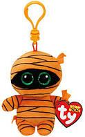 """Мягкая игрушка детская TY Beanie Boo's 35142 Оранжевая мумия """"Mask"""" 12см"""