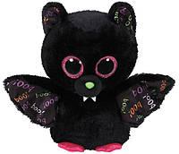 """Мягкая игрушка глазастик антистрес TY Beanie Boo's 37250 Летучая мышь """"Dart"""" 15см"""