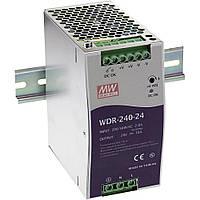 Блок питания WDR-240-24 MeanWell, фото 1