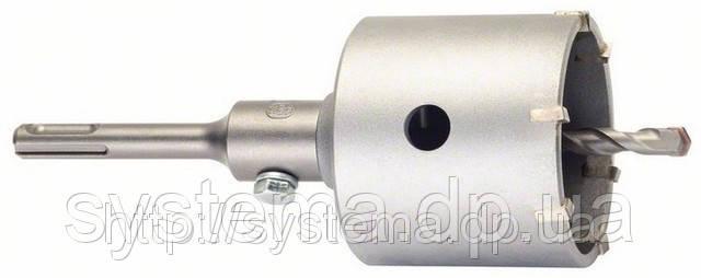 BOSCH - Полая сверлильная коронка с хвостовиком SDS-plus д.82 мм