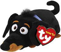 Мягкая игрушка глазастик антистрес TY Teeny Ty's 42195 Такса БАДДІ