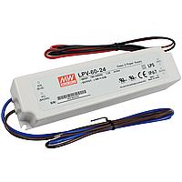 Блок питания LPV-60W-24V для светодиодной ленты MeanWell