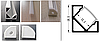 LED профиль угловой 2м PFY2 LKLed