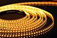 LED-лента 3528 120 диодов Yellow IP20 LKLed
