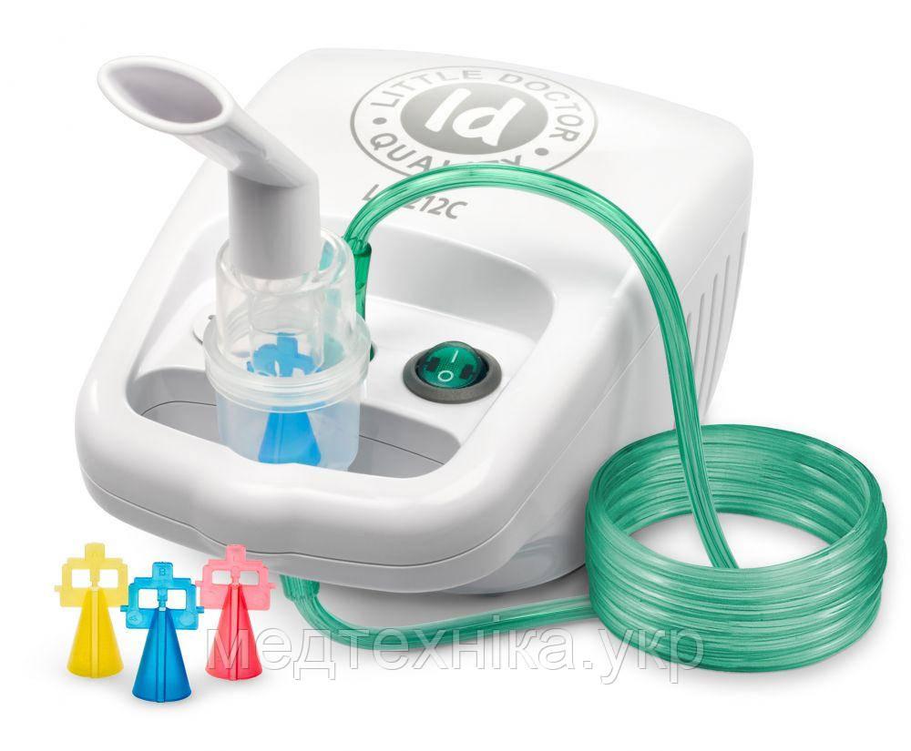 Ингалятор - небулайзер компрессорный Little Doctor LD - 212С для детей и взрослых, Сингапур