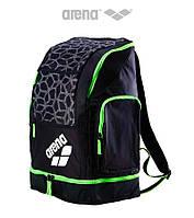 Распродажа! Большой рюкзак на 40 литров Arena Spiky 2 Large X-Pivot (Black/Green), фото 1