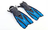 Ласты для плавания DORFIN 448 (р. 38-41, синие)